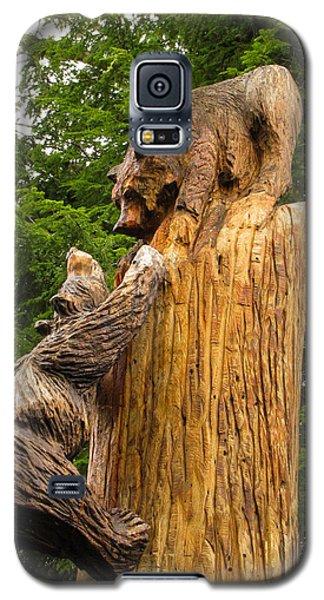 Saranac Wood Carving Galaxy S5 Case