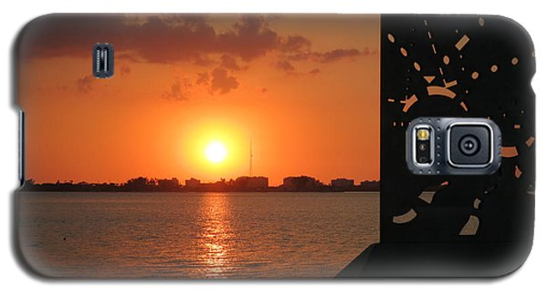 Sarasota Bay Sunset Galaxy S5 Case