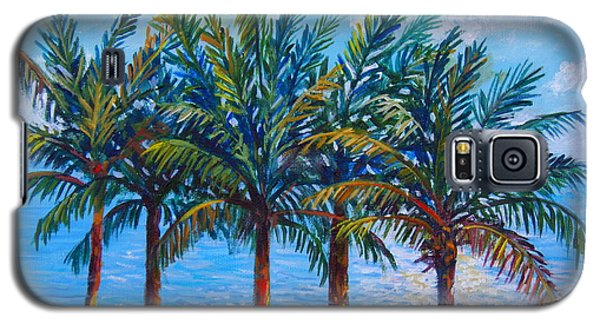 Sarasota Palms Galaxy S5 Case by Lou Ann Bagnall
