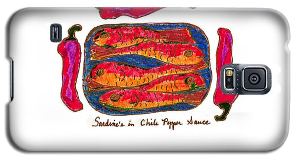 Sardines In Chili Pepper Sauce Galaxy S5 Case by Clarity Artists