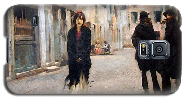 Sargent's Street In Venice Galaxy S5 Case