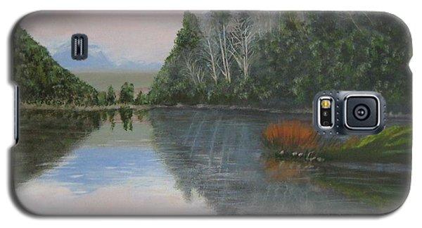Sarita Lake On Vancouver Island Galaxy S5 Case