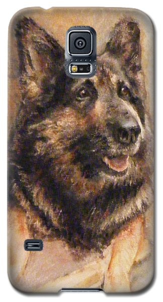Sasha German Shepherd Galaxy S5 Case