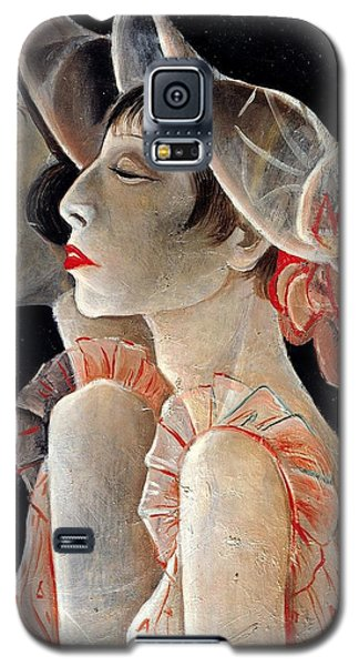 Galaxy S5 Case featuring the painting Sassy by Allen Beilschmidt