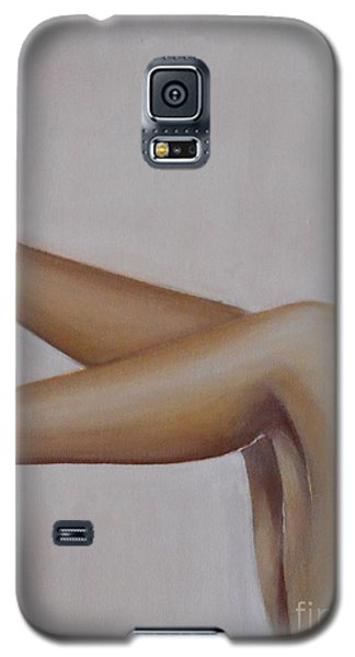 Galaxy S5 Case featuring the painting Sassy by Jane  See