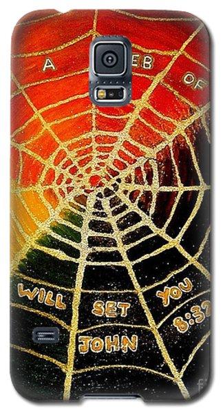 Satan's Web Of Lies Galaxy S5 Case
