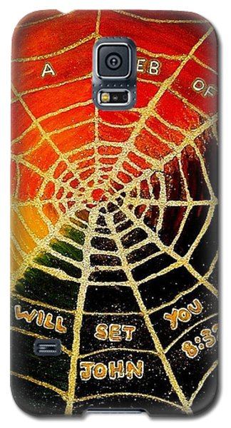 Satan's Web Of Lies Galaxy S5 Case