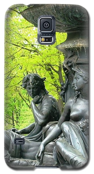 Saturday Afternoon In The Park II Galaxy S5 Case by Ann Johndro-Collins