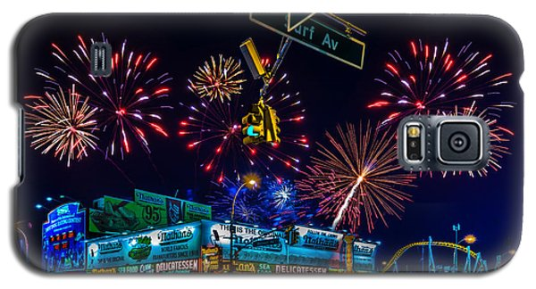 Saturday Night At Coney Island Galaxy S5 Case
