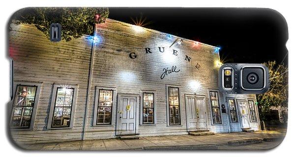 Saturday Night At Gruene Hall Galaxy S5 Case