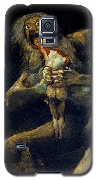 Saturn Devouring His Son Galaxy S5 Case
