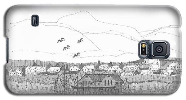 Saugerties From Tivoli Galaxy S5 Case
