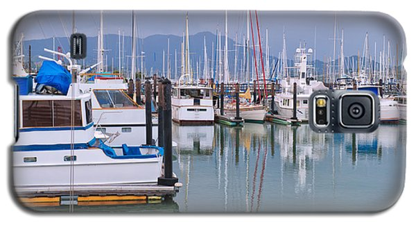 Sausalito Harbor California Galaxy S5 Case by Marianne Campolongo