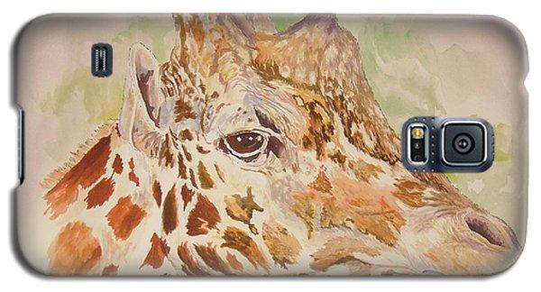 Savanna Giraffe Galaxy S5 Case