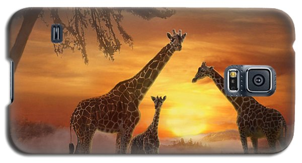 Savanna Sunset Galaxy S5 Case