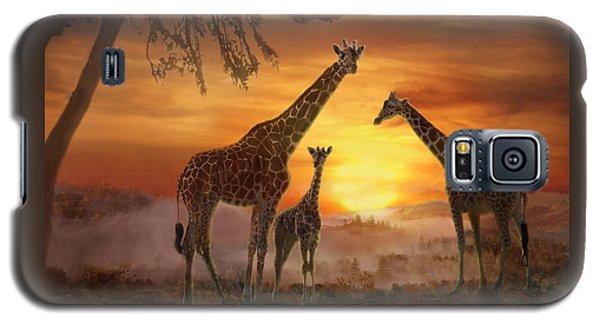 Savanna Sunset Galaxy S5 Case
