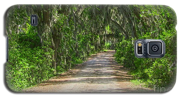 Savannah Country Road Galaxy S5 Case by D Wallace