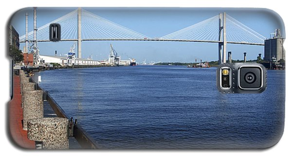 Savannah River Bridge Ga Galaxy S5 Case