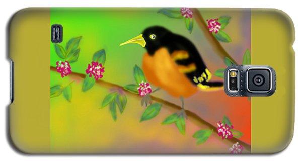 Galaxy S5 Case featuring the digital art Save My Beautiful World by Latha Gokuldas Panicker