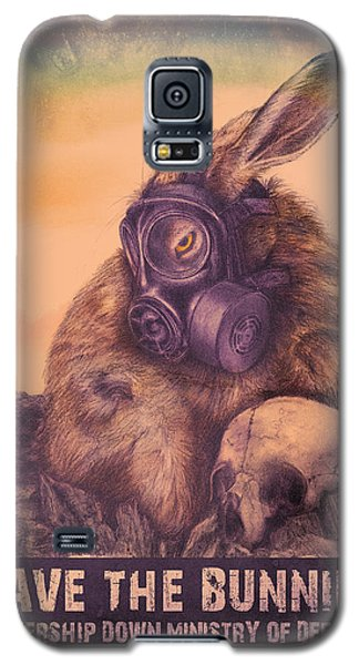 Save The Bunnies Galaxy S5 Case