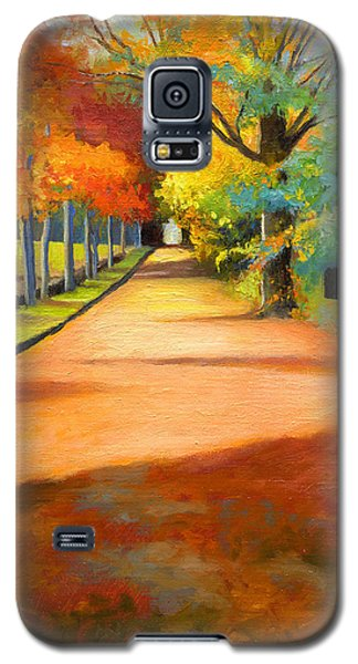 Sawmill Road Autumn Vermont Landscape Galaxy S5 Case