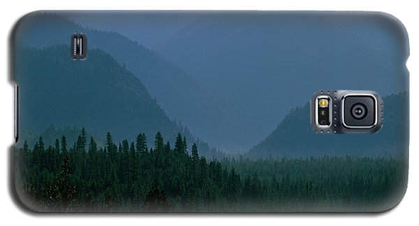 Sawtooth Mountains Silhouette Galaxy S5 Case