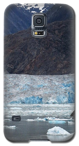 Galaxy S5 Case featuring the photograph Sawyer Glacier Blue Ice by Jennifer Wheatley Wolf