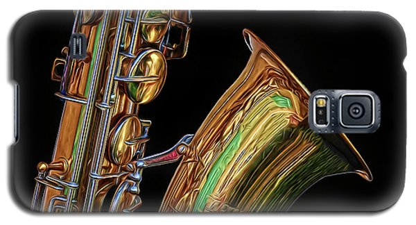 Galaxy S5 Case featuring the photograph Saxophone by Dave Mills
