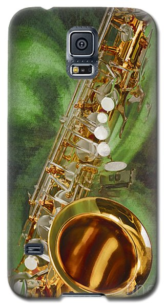 Saxophone Instrument Painting Music  In Color 3253.02 Galaxy S5 Case