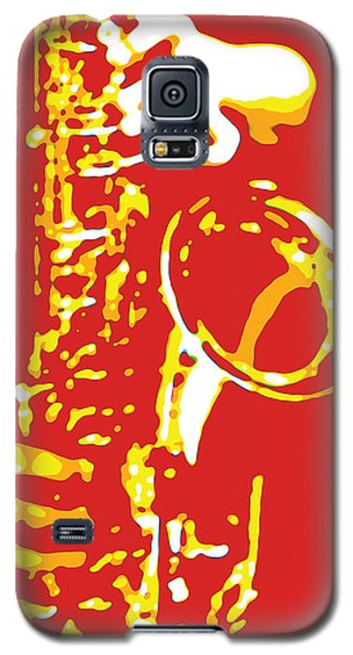 Saxy Red Poster Galaxy S5 Case