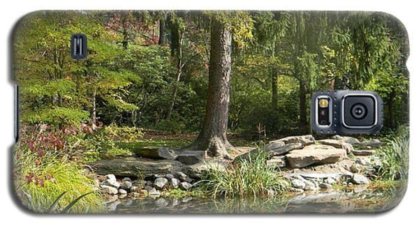 Sayen Gardens Pond Galaxy S5 Case by Nance Larson