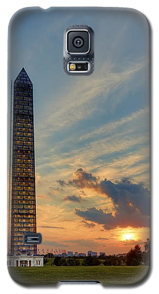 Scaffolding At Sunset Galaxy S5 Case