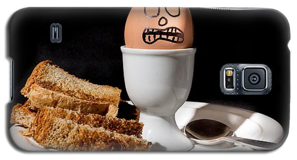 Scared Egg Galaxy S5 Case