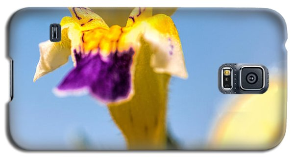 Galaxy S5 Case featuring the photograph Scared Flower by Leif Sohlman