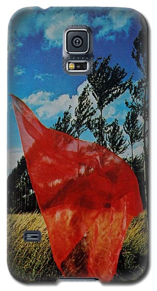 Scarf In The Winds Galaxy S5 Case