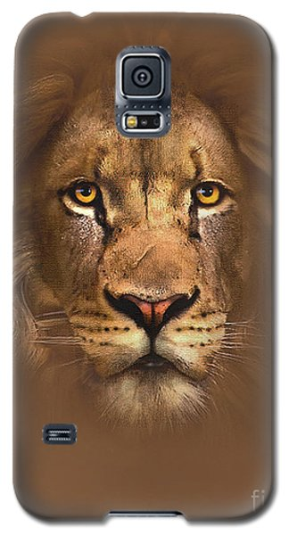 Scarface Lion Galaxy S5 Case by Robert Foster