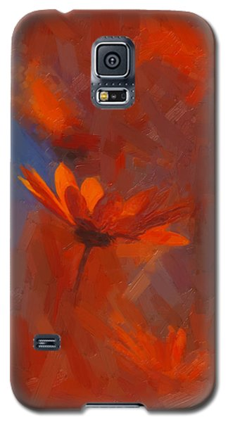 Scarlet Petals  Galaxy S5 Case