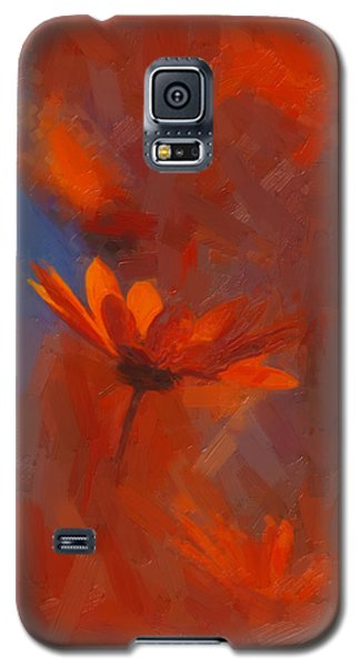 Scarlet Petals  Galaxy S5 Case by Paul Davenport