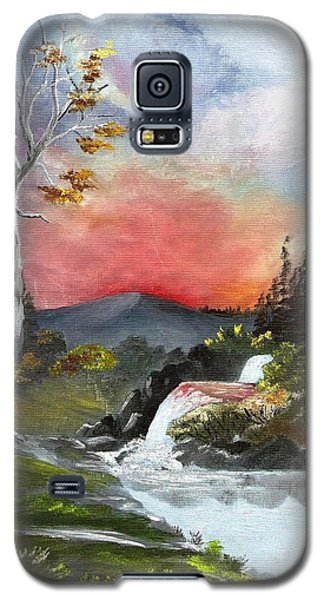 Scarlet Sunset Galaxy S5 Case