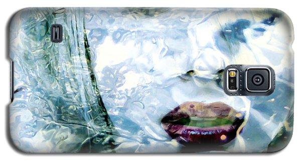 Scarlett Johansson Portrait - Water Reflections Series Galaxy S5 Case
