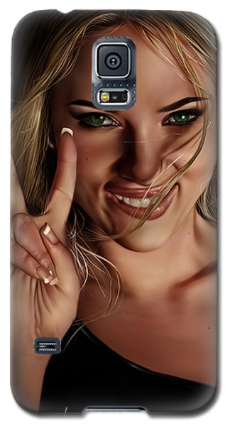 Scarlett Galaxy S5 Case
