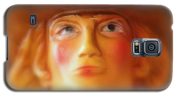 Galaxy S5 Case featuring the photograph Scary Cowgirl by Lynn Sprowl
