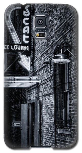 Scat Lounge In Cool Black And White Galaxy S5 Case