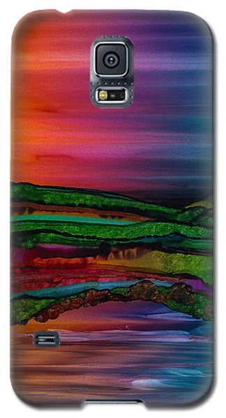 Scattering Waves Galaxy S5 Case