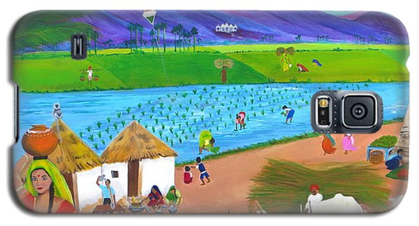 Scenes Of India Galaxy S5 Case