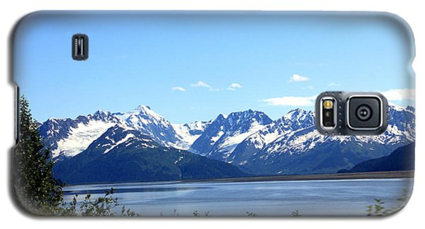 Galaxy S5 Case featuring the photograph Scenic Byway In Alaska by Kathy  White