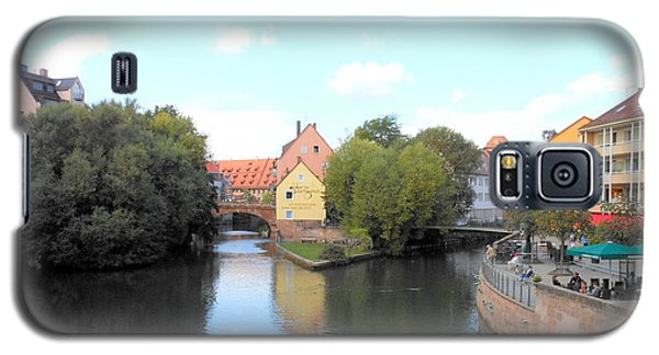 Galaxy S5 Case featuring the photograph Scenic Nuremberg by Kay Gilley