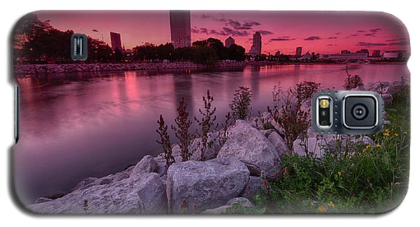 Scenic Sunset Galaxy S5 Case