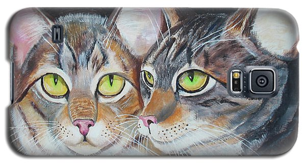 Scheming Cats Galaxy S5 Case