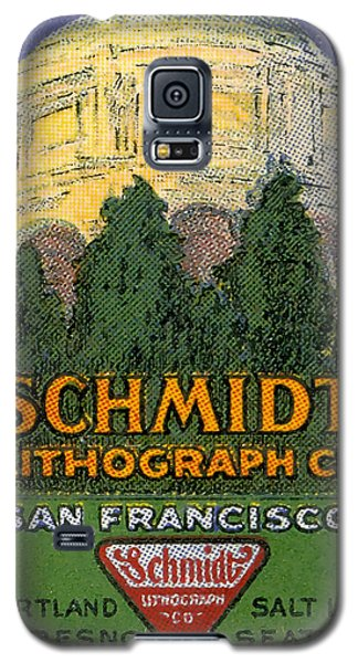 Schmidt Lithograph  Galaxy S5 Case